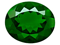 CDV125<br>Russian Chrome Diopside Minimum 2.50ct 10x8mm Oval