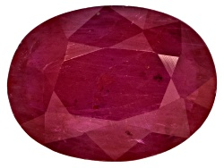 RBV377<br>Burmese Ruby Min 1.25ct  8x6mm Oval