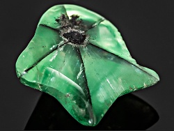XTP095<br>Colombian Trapiche Emerald 8.80ct 16.20x16.16x7.08mm Fancy Shape Carving With Gemworld Rep