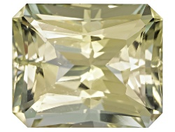 XTP334<br>Afghan Untreated Yellow Tourmaline 4.02ct 10.23x8.47mm Octagonal Radiant Cut Gemworld Repo