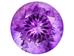 MYR053<br>Moroccan Amethyst With Needles Avg 10.50ct 15mm Round
