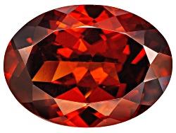 RZV045<br>Tanzanian Red Zircon Min 10.00ct Mm Varies Oval