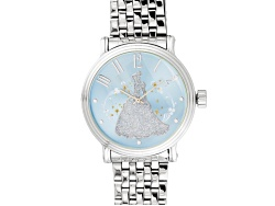 JBW673<br>Disney (R) Ladies Silver Tone Cinderella Watch