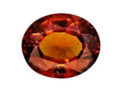 HEV099<br>Sri Lankan Hessonite Garnet Avg 5.00ct 12x10mm Oval