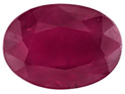 RBV484<br>Burmese Ruby Min 1.00ct 7x5mm Oval