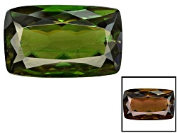 CCC001<br>Pakistani Color Change Chrome Sphene 5.25ct 8.5x3.5mm Rectangular Cushion