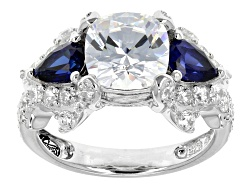 RRB219<br>Remy Rotenier For Bella Luce(R) Remy Cut Lab Created Sapphire & Diamond Simulant Sterling