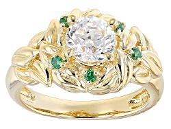 RRB221<br>Remy Rotenier For Bella Luce(R) 1.94ctw Diamond Simulant & Emerald Simulant Eterno(Tm) Yel