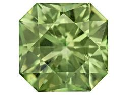 DME019<br>Namibian Green Dragon Mine Demantoid Garnet Min .50ct 4.5x4.5mm Square Octagonal