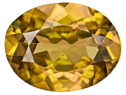 OBV197<br>Madagascan Sphene Min 1.75ct 9x7mm Oval