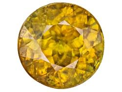 OBR454<br>Madagascan Sphene Min 1.00ct 6.5mm Round