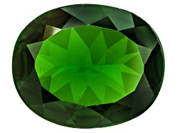 CDV541<br>Russian Chrome Diopside Min 3.50ct 12x10mm Oval