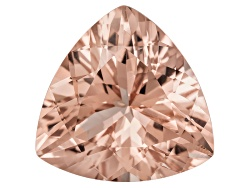 MG048<br>Cor-de-rosa Morganite (Tm) Minimum 11.00ct 16mm Trillion Mixed Cut