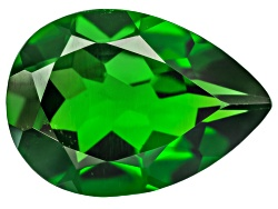 CD075<br>Russian Chrome Diopside Minimum 1.50ct 10x7mm Pear Shape