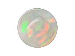 OP345<br>Ethiopian Opal 1.25ct Minimum 9mm Round Cabochon