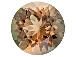SN161<br>Bi-color Oregon Sunstone From Butte Mine 1.40ct Minimum 8mm Round Mixed Cut Color Varies